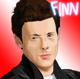 Glee_Fan_Art___Finn_Hudson_by_GleeonDoodles